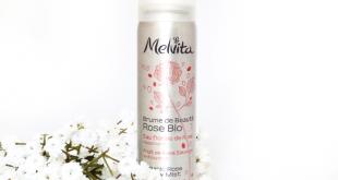 Brume de beauté rose bio Melvita