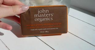 savon exfoliant john masters organics