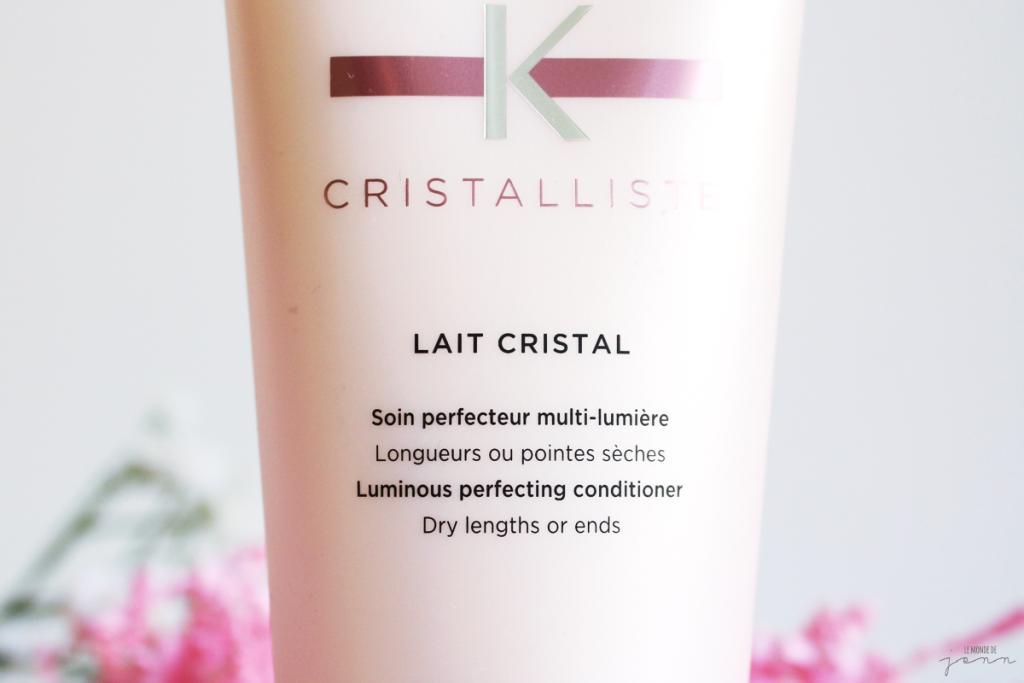 Un Lait Cristal pour des cheveux lumineux ?