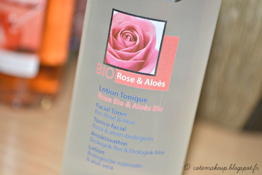 lotion tonique bio Logona par Côté Make-up cotemakeup.blogspot.fr