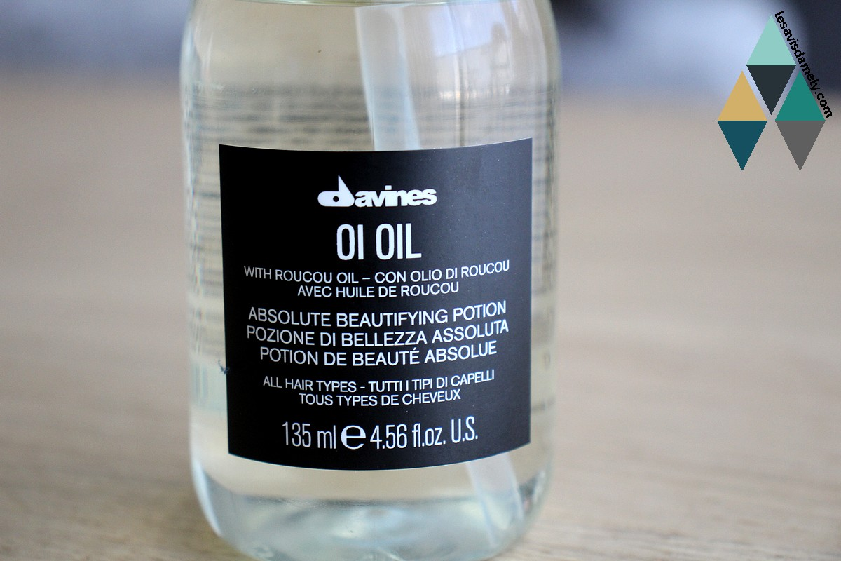 test oi oil Davines