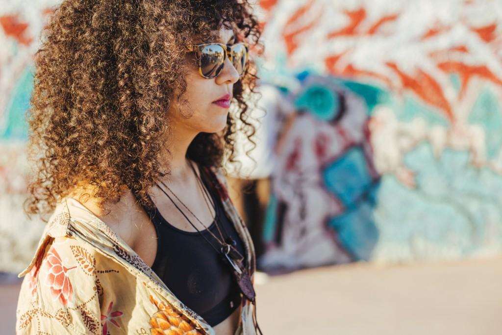 cheveux crépus afro