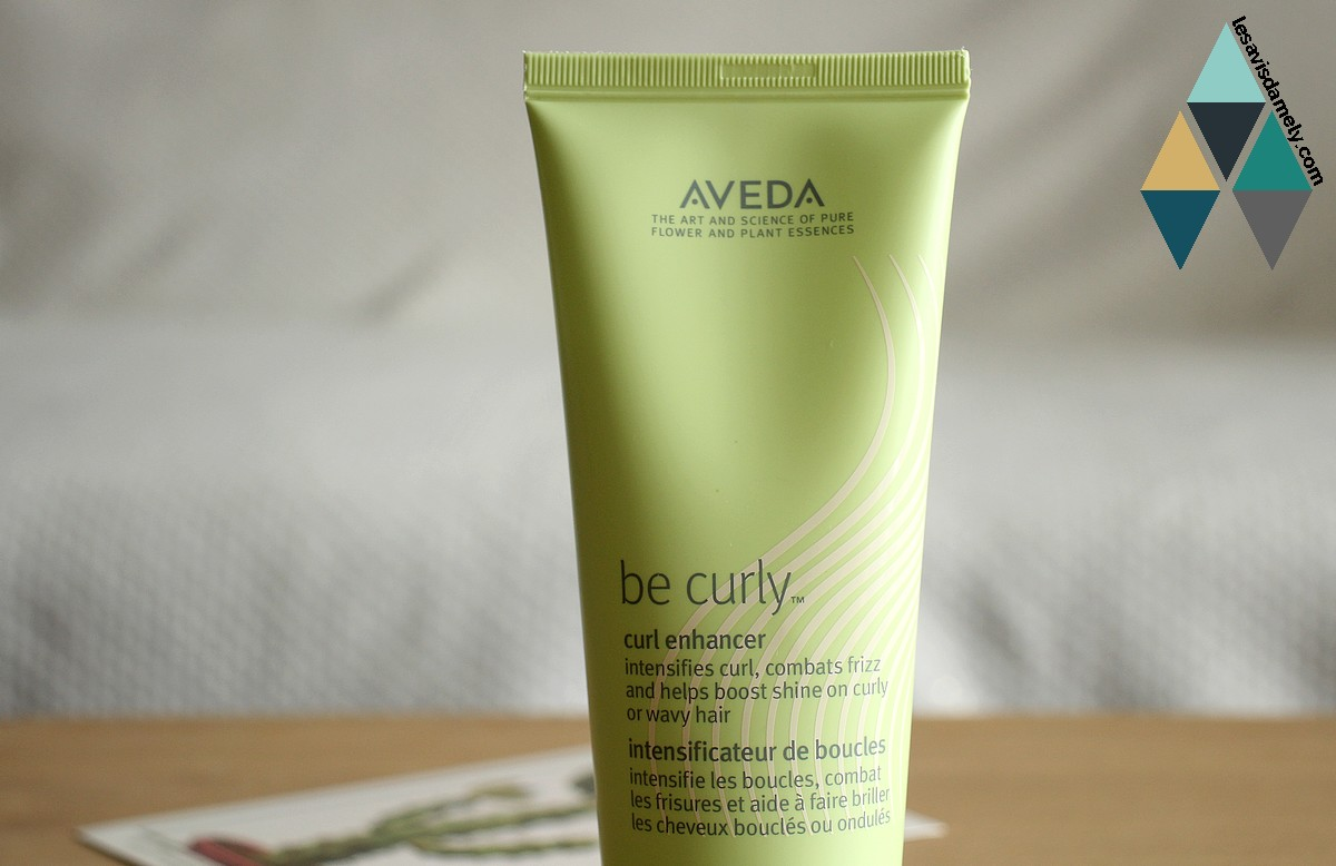 avis et test intensificateur de boucles be curly de Aveda